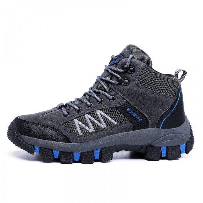 Rubber Outsole Hiking Sport Shoes Cotton Fabric Lining Sweat Absorbant