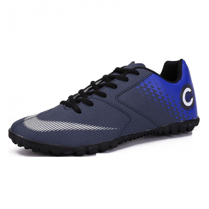 Customized Mens Football Boots Rubber Material Outsole OEM ODM Available