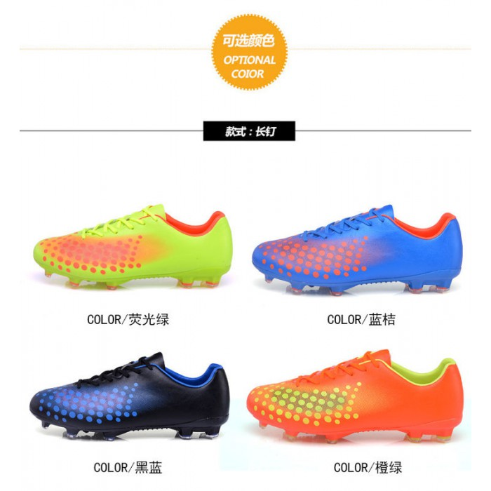 TPU Outsole Durable Soccer Cleats Anti Slippery Sweat Absorbant Dampproof