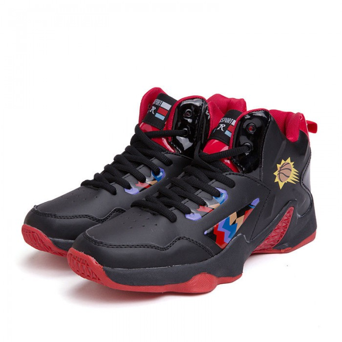 Sweat Absorbant Anti Slip Basketball Shoes , High Neck Basketball Shoes