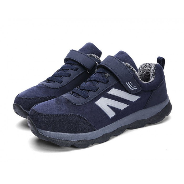 Women Winter Sport Shoes , Warm Winter Running Trainers Abrasion Resistant