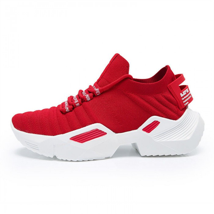 Breathable Winter Sport Shoes , Indoor Outdoor Warm Running Shoes