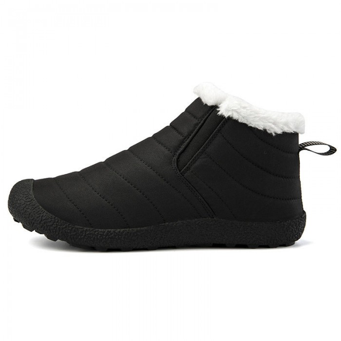 Comfortable Feeling Short Warm Winter Boots Perforated Arch For Ventilation