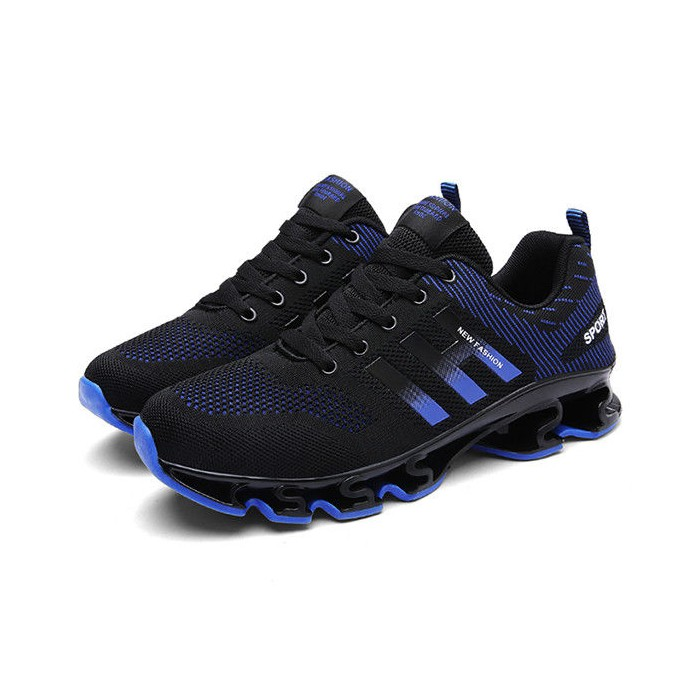 Anti Collision Men's Leisure Breathable Running Shoes Non Slip With Lace Up