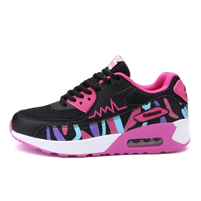 Lace Up Lightweight Running Trainers , Breathable Mesh Running Shoes