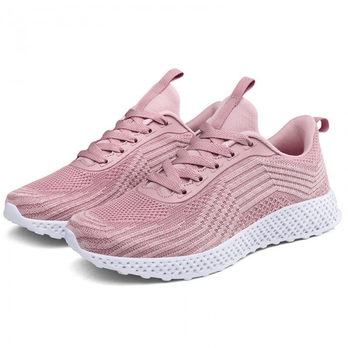 Pink Color Supportive Tennis Shoes , Comfortable Stylish Tennis Shoes