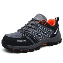 Colorful Safety Footwear Trainers , Safety Work Shoes Durable Construction