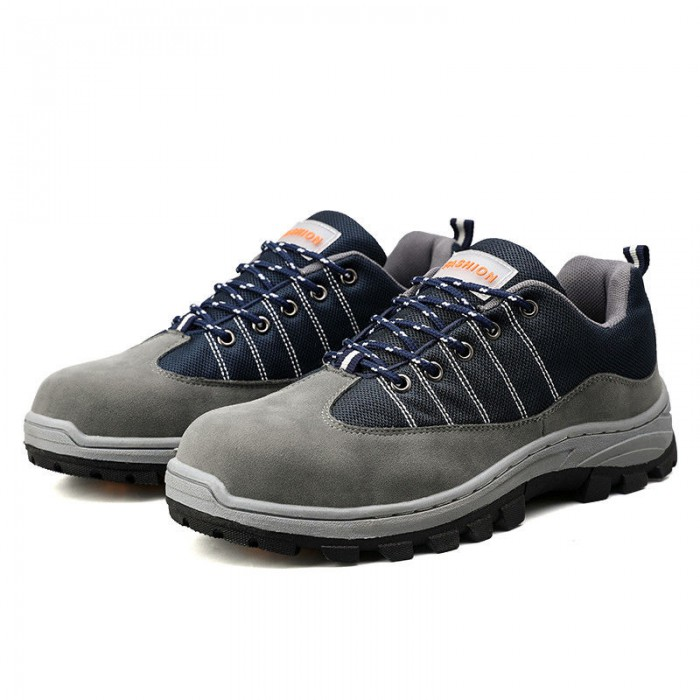 Non Slip Mens Safety Sneakers Ventilating Shoes Insole Comfort Foot Environment