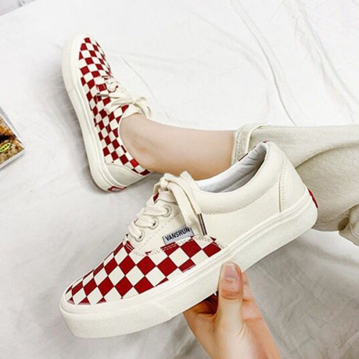 Cotton Fabric Upper Custom Sports Shoes , Casual Canvas Sports Shoes
