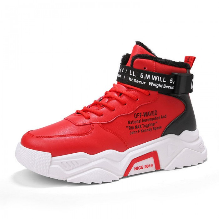Winter Casual Sports Shoes High Abrasion Rubber Outsole For Traction