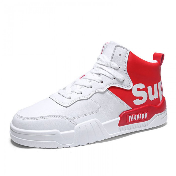 Fashion Casual Sports Shoes , Anti Slip Basketball Shoes High Neck Design