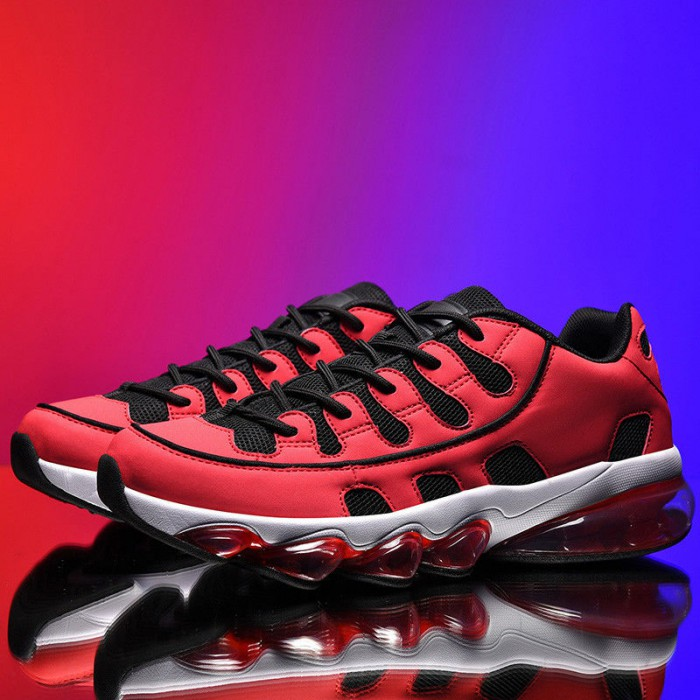 Red Color Badminton Sports Shoes Hard Wearing With SGS Certification