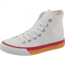 Vulcanize White Canvas Sports Shoes Size 35-41 All Seasons Colors Optional