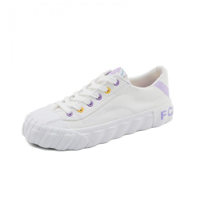 All Seasons Canvas Sports Shoes , White High Top Canvas Shoes Women
