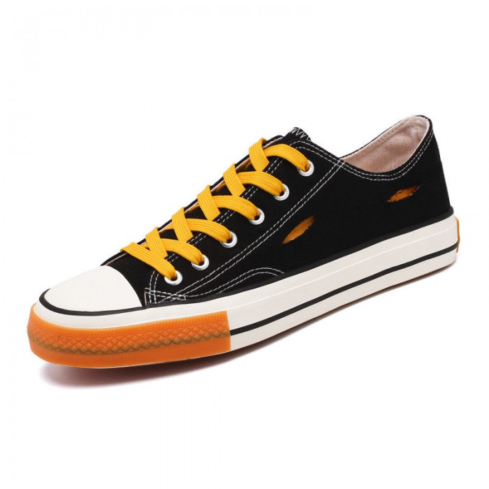 Lightweight Colored Canvas Shoes High Durability With SGS Certification