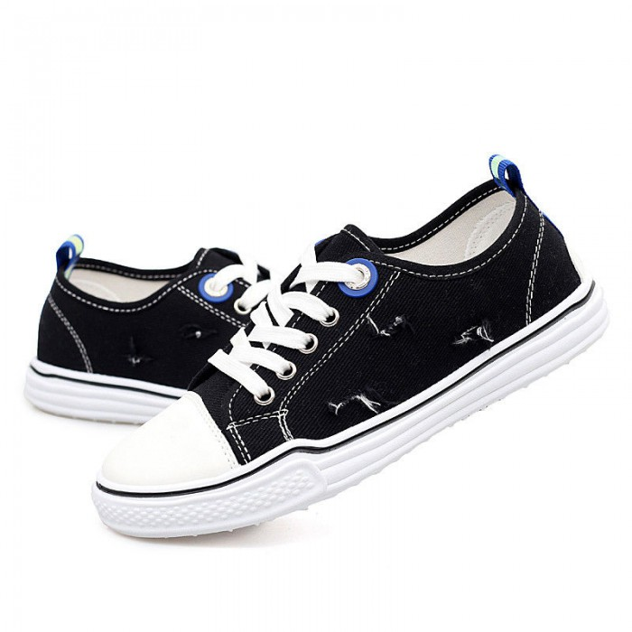 Casual Canvas Sports Shoes Cotton Fabric Lining Material